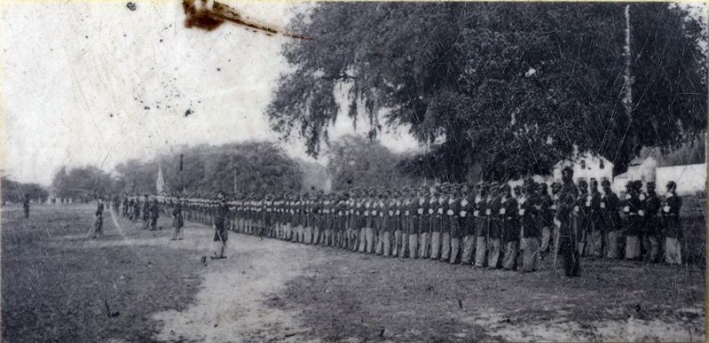 The 29th Connecticut Infantry Regiment during the Civil War image. Click for full size.