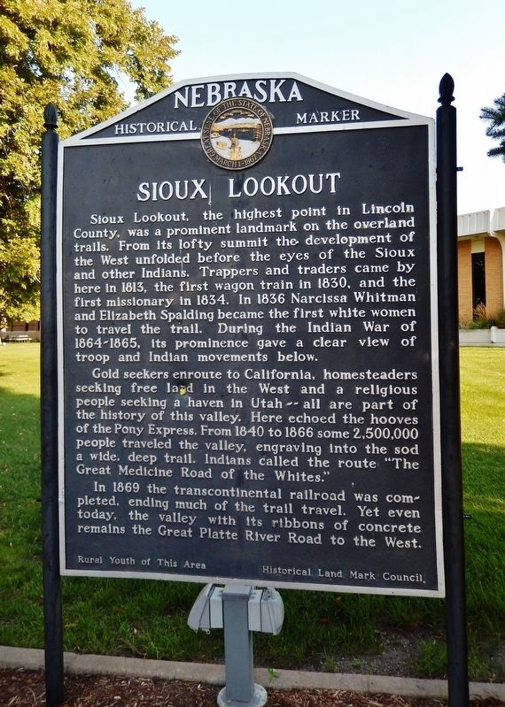 Sioux Lookout Marker image. Click for full size.