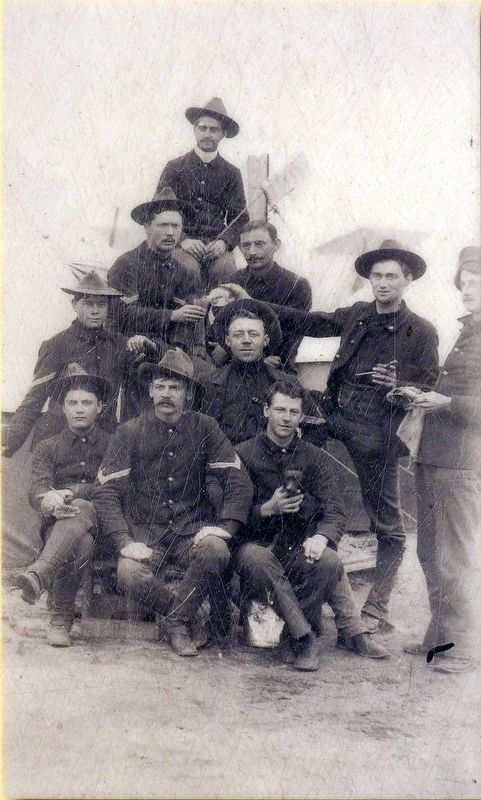 Co. B, 1st Maryland Infantry image. Click for full size.