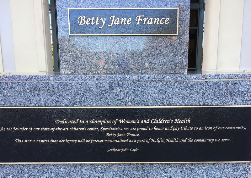 Betty Jane France Marker image. Click for full size.