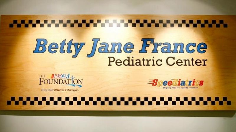 Betty Jane France Pediatric Center image. Click for full size.