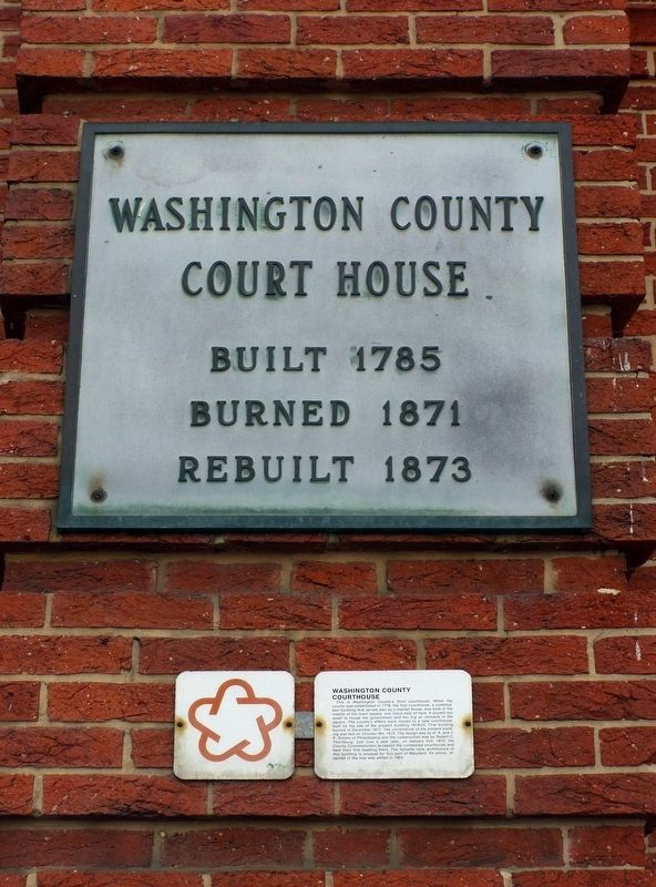 Washington County<br>Court House image. Click for full size.