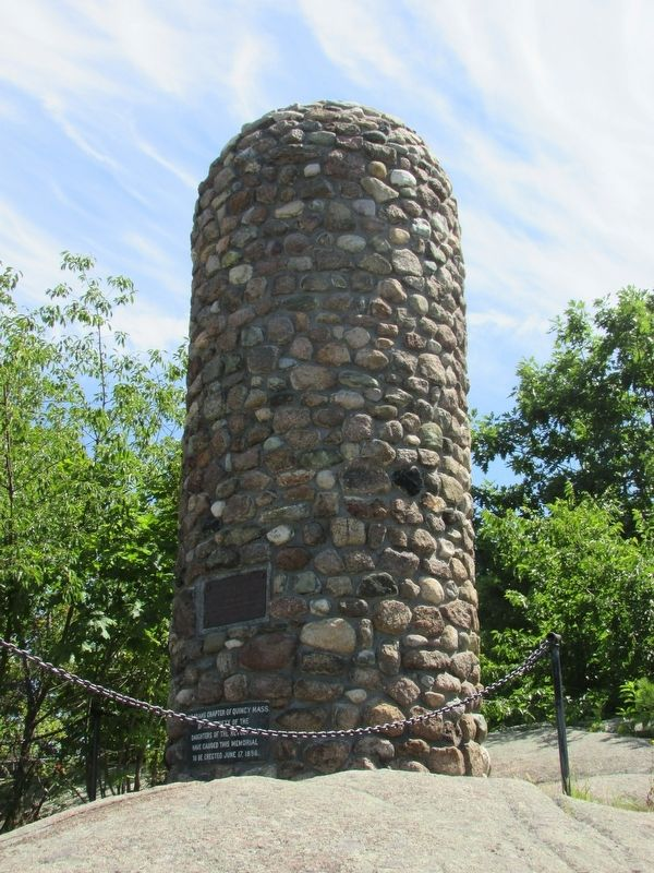 Abigail Adams Cairn Marker image. Click for full size.