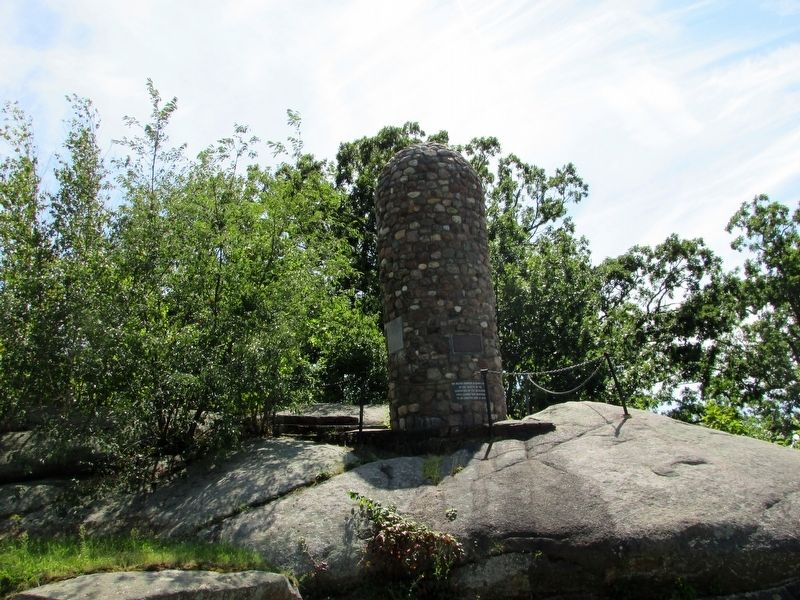 Abigail Adams Cairn image. Click for full size.