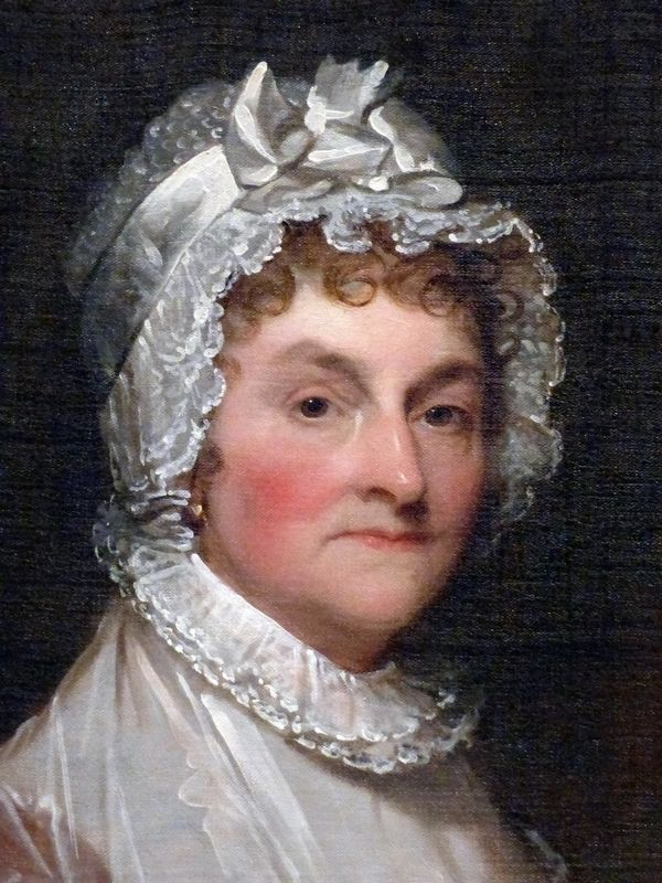 Abigail Smith Adams image. Click for full size.