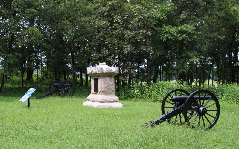11th Indiana Battery Marker image. Click for full size.