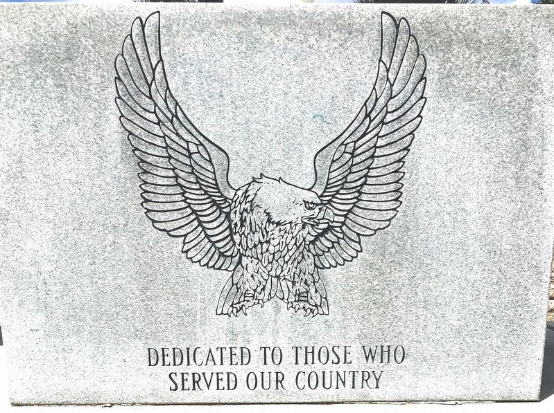Vererans Memorial Marker image. Click for full size.