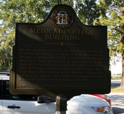 Medical College Building Marker image. Click for full size.