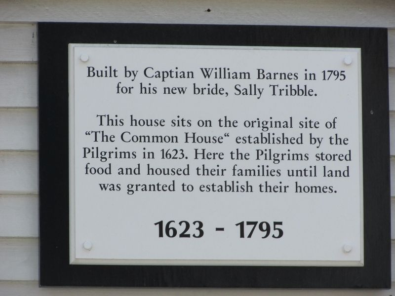 The Common House Marker image. Click for full size.