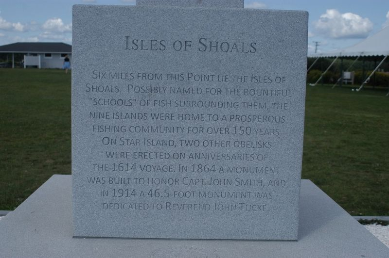 New Isles of Shoals Marker Marker image. Click for full size.