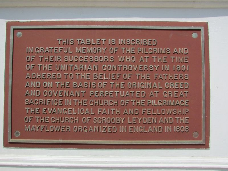 Unitarian Controversy of 1801 Marker image. Click for full size.
