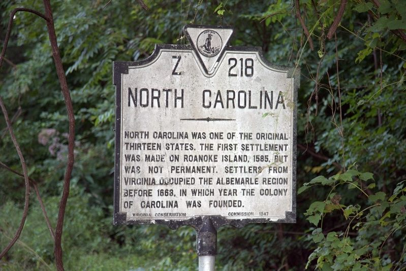 North Carolina Face of Marker image. Click for full size.