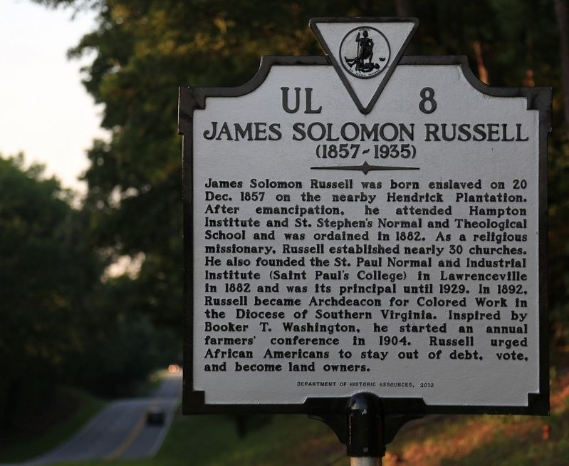 James Solomon Russell Marker image. Click for full size.