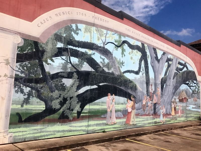 Seven Brothers Oak Mural image. Click for full size.