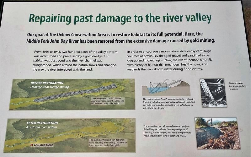 Marker 2 - Repairing Past Damage to the River Valley image, Touch for more information