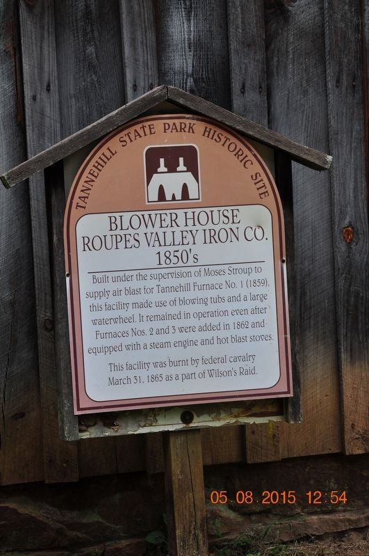 Blower House Marker image. Click for full size.