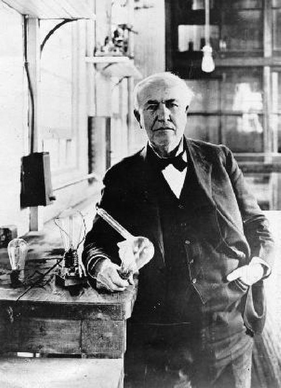 Thomas A. Edison image. Click for full size.