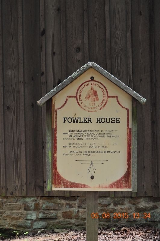 Fowler House  Marker image. Click for full size.