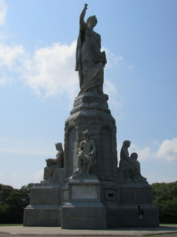 National Monument to the Forefathers image. Click for full size.