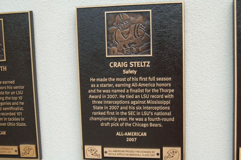 Craig Steltz Marker image. Click for full size.
