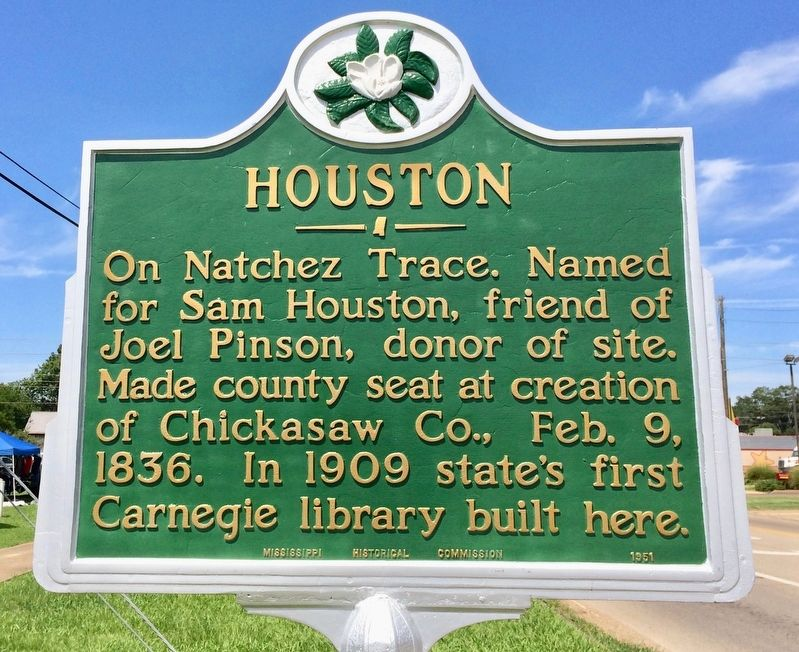 Houston Marker image. Click for full size.