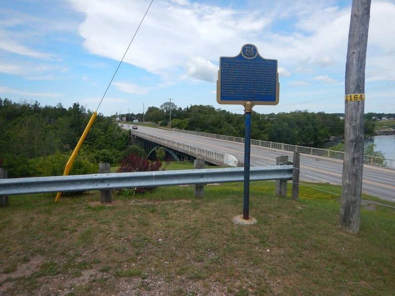 Wideview of The Founding of Sturgeon Falls Marker image. Click for full size.