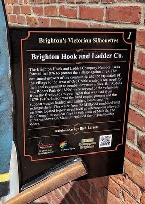 Brighton Hook and Ladder Co. Marker image. Click for full size.