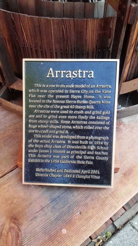 Arrastra Marker image, Touch for more information