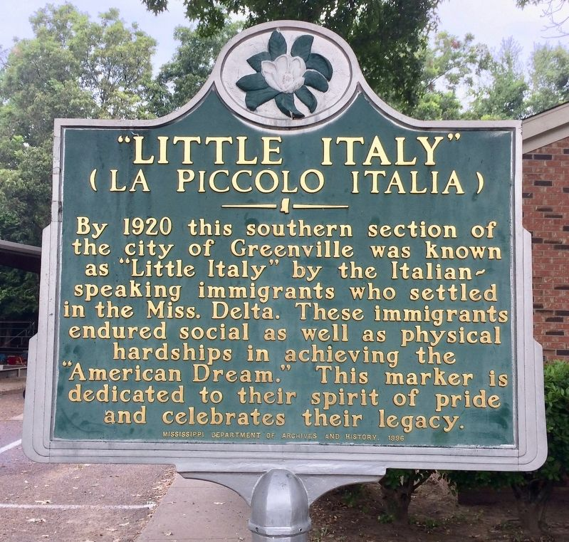 """Little Italy' Marker image. Click for full size."