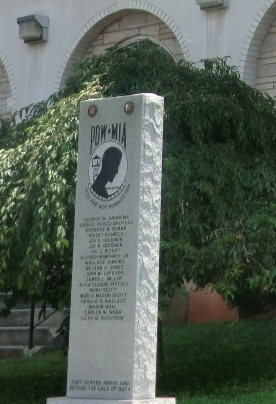 POW*MIA Monument Marker image. Click for full size.