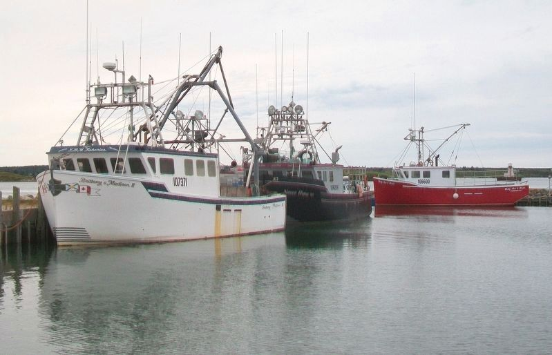 Yarmouth Bar Lobster Boats image. Click for full size.