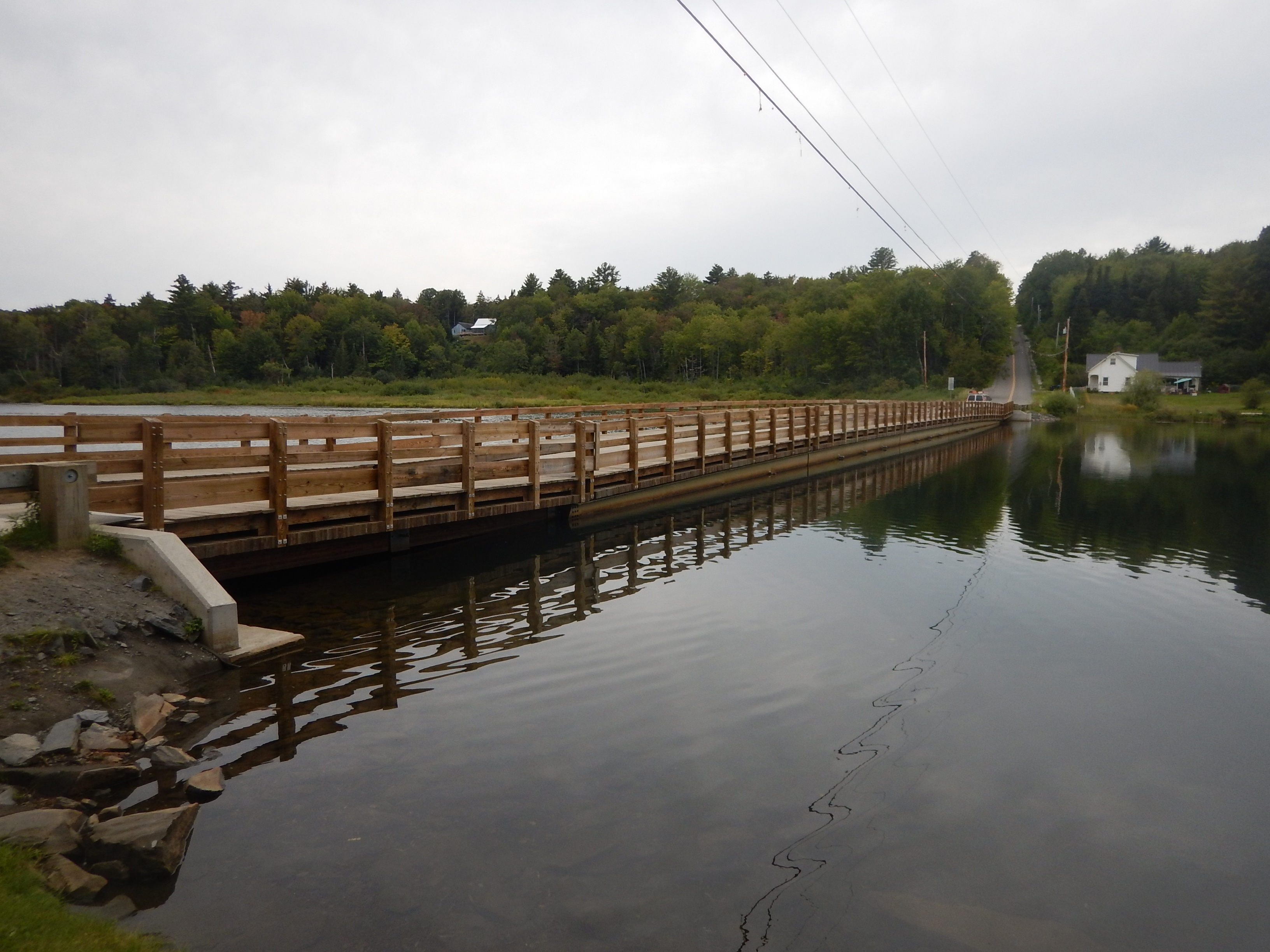 The Floating Bridge in Brookfield