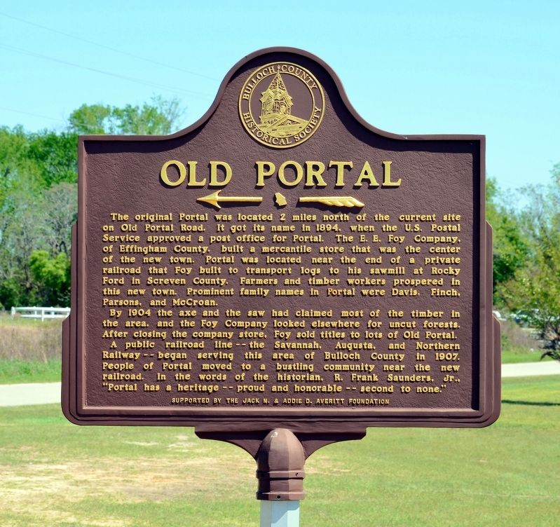 Old Portal Marker image. Click for full size.