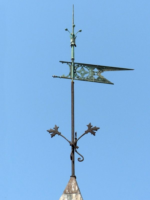 Weathervane image. Click for full size.
