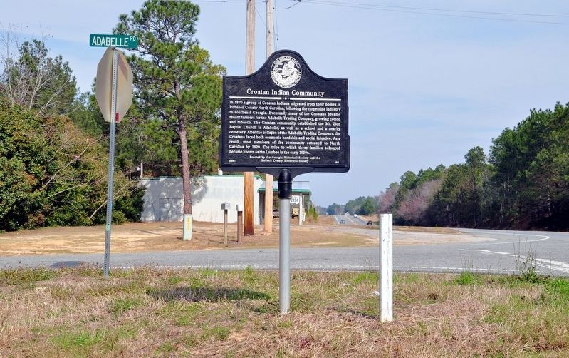 Croatan Indian Community Marker image, Touch for more information