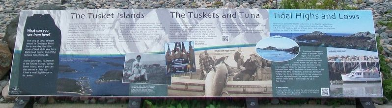 The Tusket Islands Marker image. Click for full size.