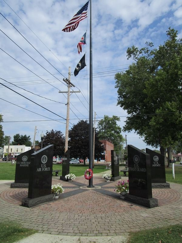 Township of Andover Veterans Memorial image. Click for full size.