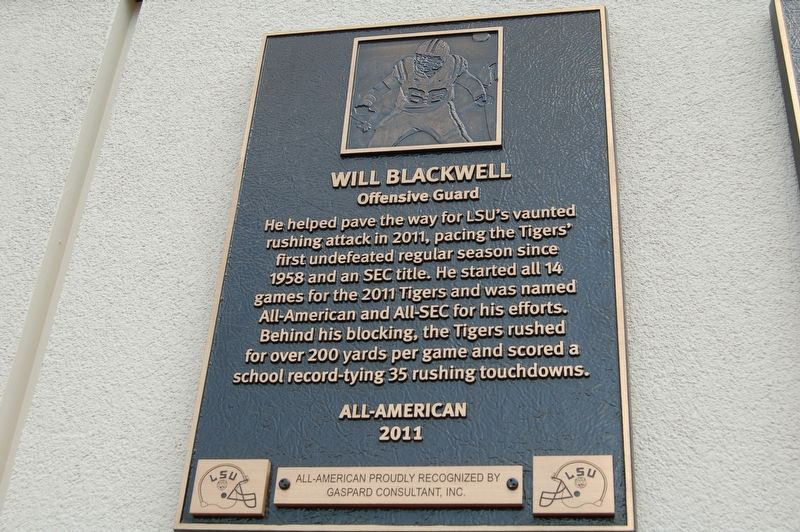 Will Blackwell Marker image. Click for full size.