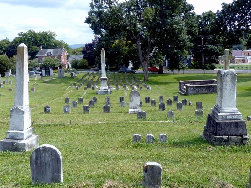 The Confederate Cemetery<br>in Elmwood Cemetery image. Click for full size.