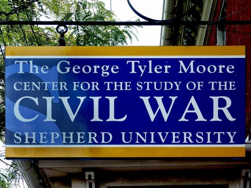 The George Tyler Moore<br>Center for the Study of the<br><b>Civil War</b> image. Click for full size.