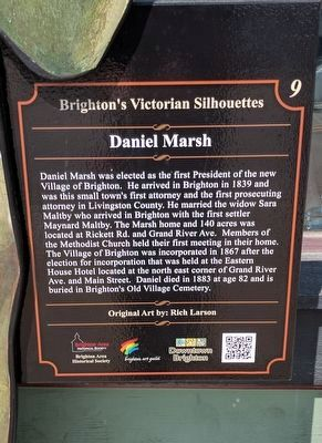 Daniel Marsh Marker image. Click for full size.