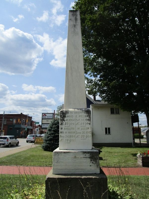 Evansburgh & Sadsbury Civil War Monument image. Click for full size.