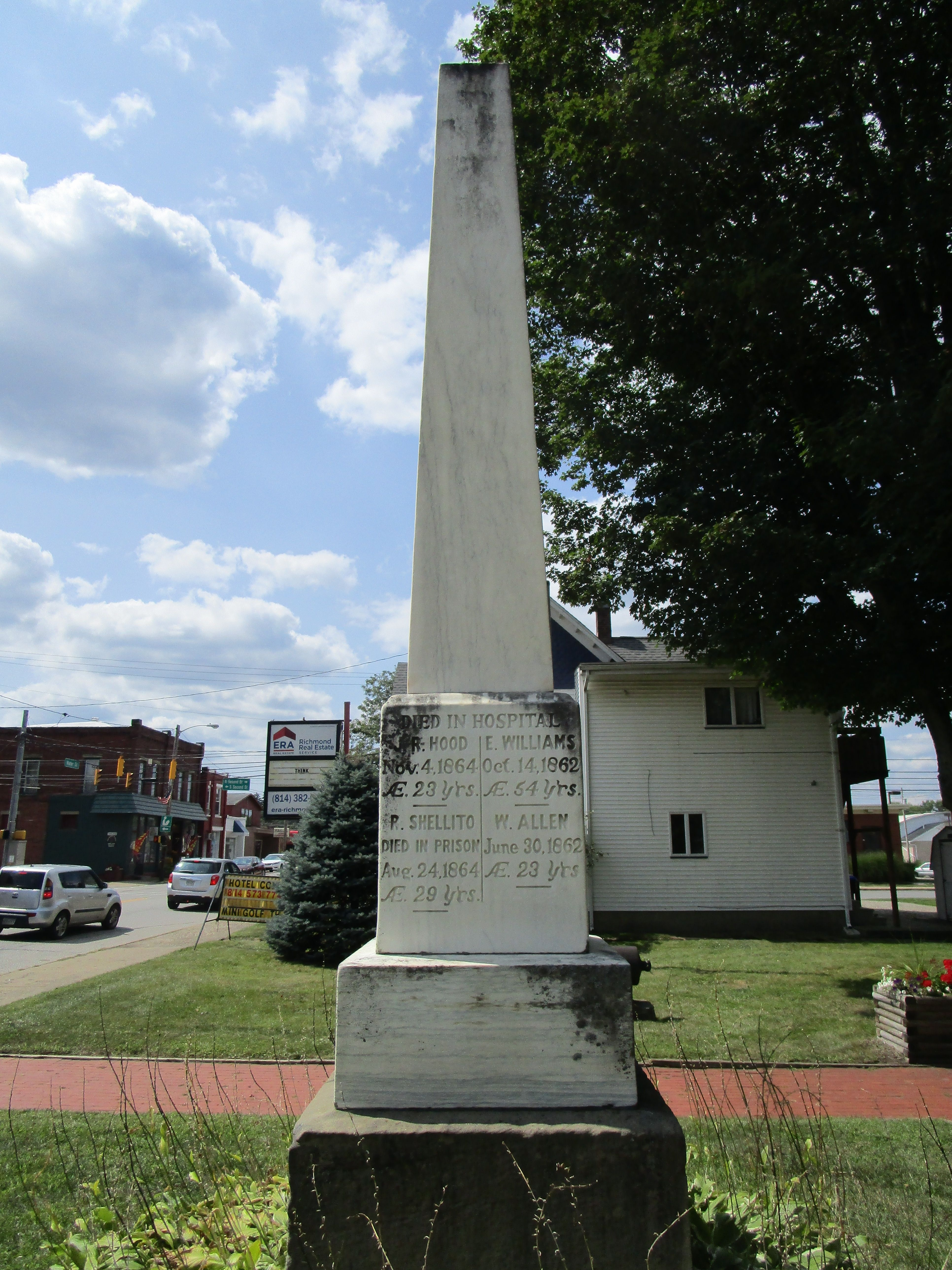 Evansburgh & Sadsbury Civil War Monument