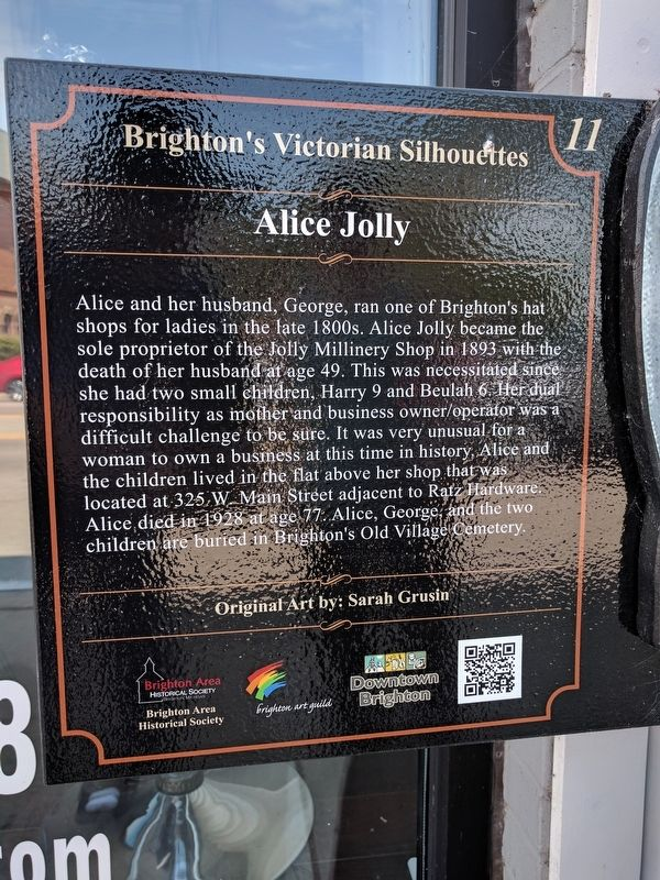 Alice Jolly Marker image. Click for full size.