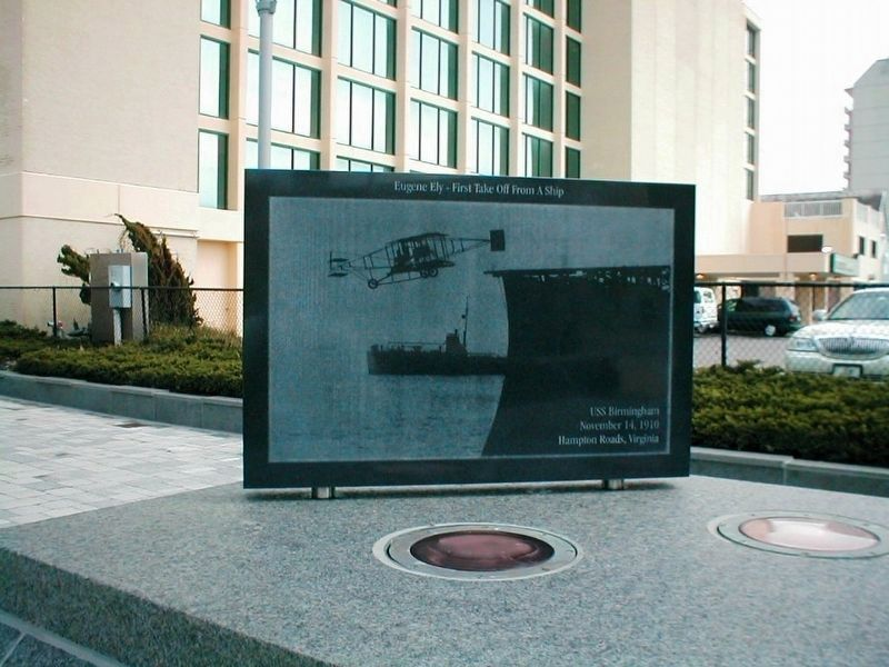 Naval Aviation Monument Park Marker image. Click for full size.