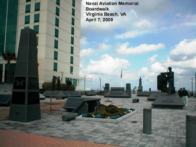 Naval Aviation Monument Park-full view image. Click for full size.