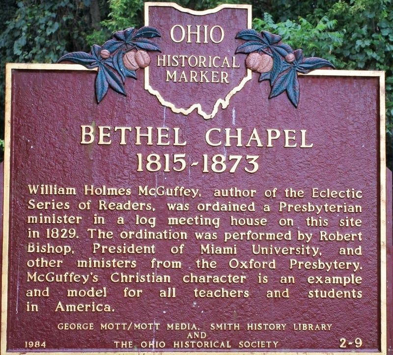 Bethel Chapel 1815- 1873 Marker image. Click for full size.