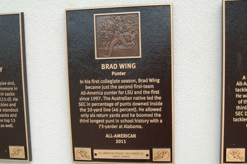 Brad Wing Marker image. Click for full size.