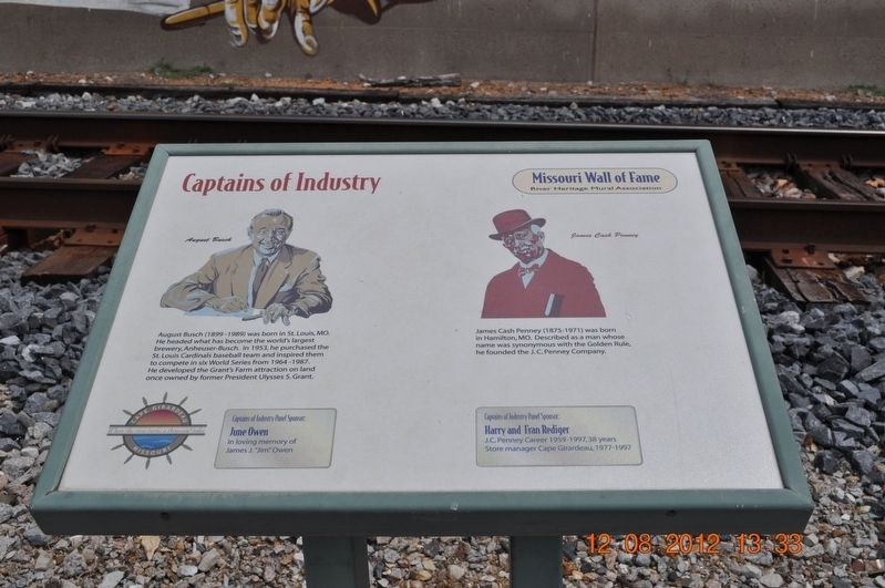 Captains of Industry Marker image. Click for full size.