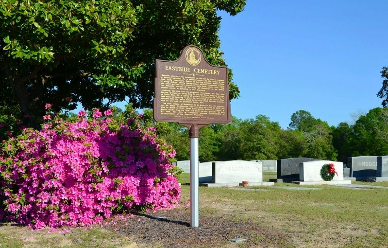 Eastside Cemetery Marker image. Click for full size.
